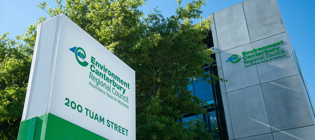 Environment Canterbury Office Tuam Street