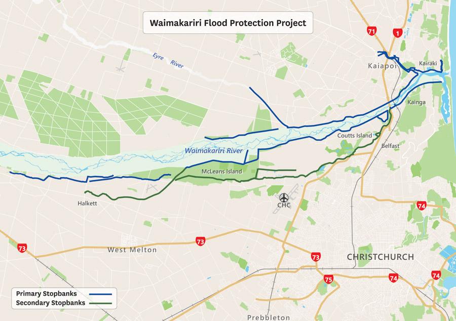 Waimakariri Flood Protection Project